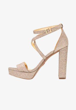 CHARLIZE PLATFORM - High heeled sandals - multicolor