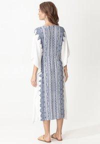 Indiska - KAFTAN LINDA - Day dress - blue - 2