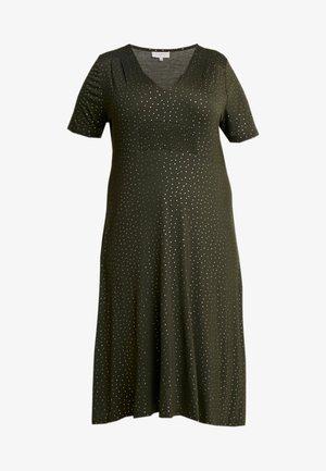 CARDORTE KNEE DRESS - Robe en jersey - kalamata/gold