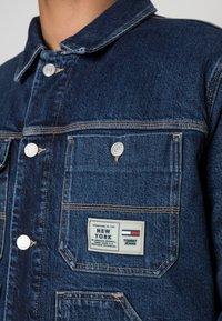 Tommy Jeans - Jakna iz džinsa - denim dark - 4