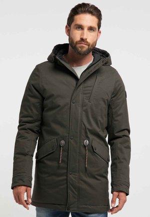Zimní kabát - forest