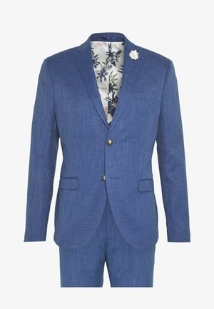WEDDING COLLECTION - SLIM FIT SUIT - Oblek - blue