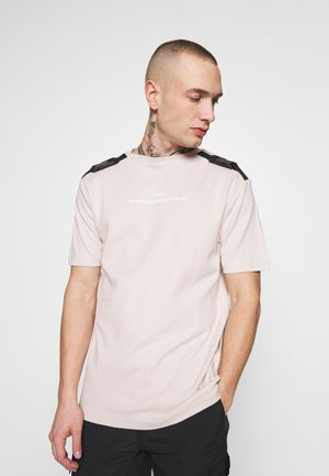 CLIPPED IN STONE - T-shirt print - stone
