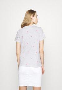 ONLY - ONLBONE LIFE TOP BOX - T-shirt imprimé - bright white - 2