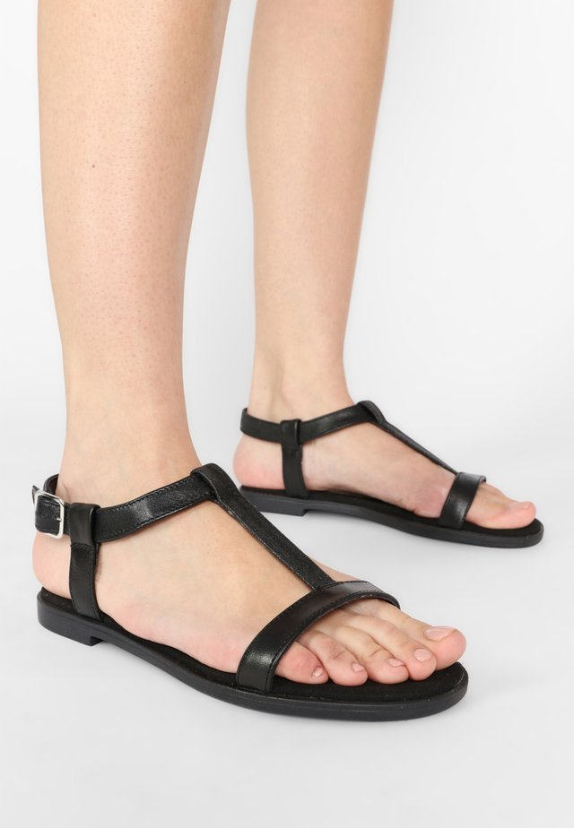 BAY ROSA - Sandals - black