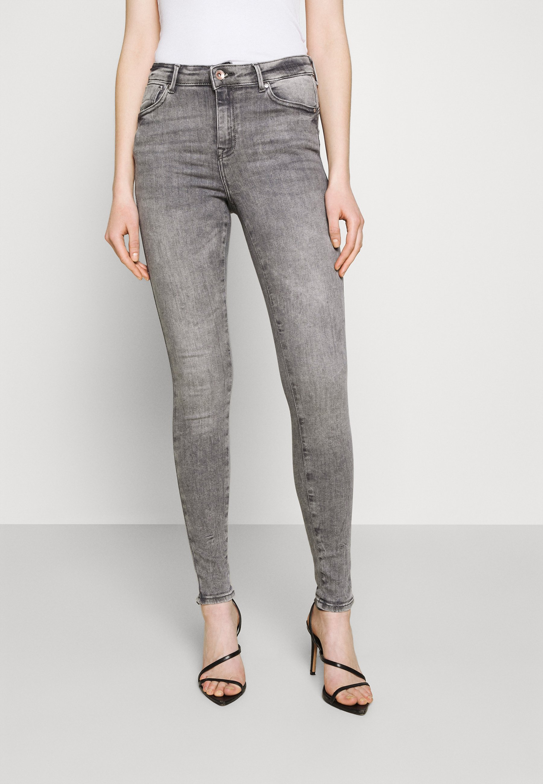 Women ONLPOWER LIFE MID PUSH UP  - Jeans Skinny Fit
