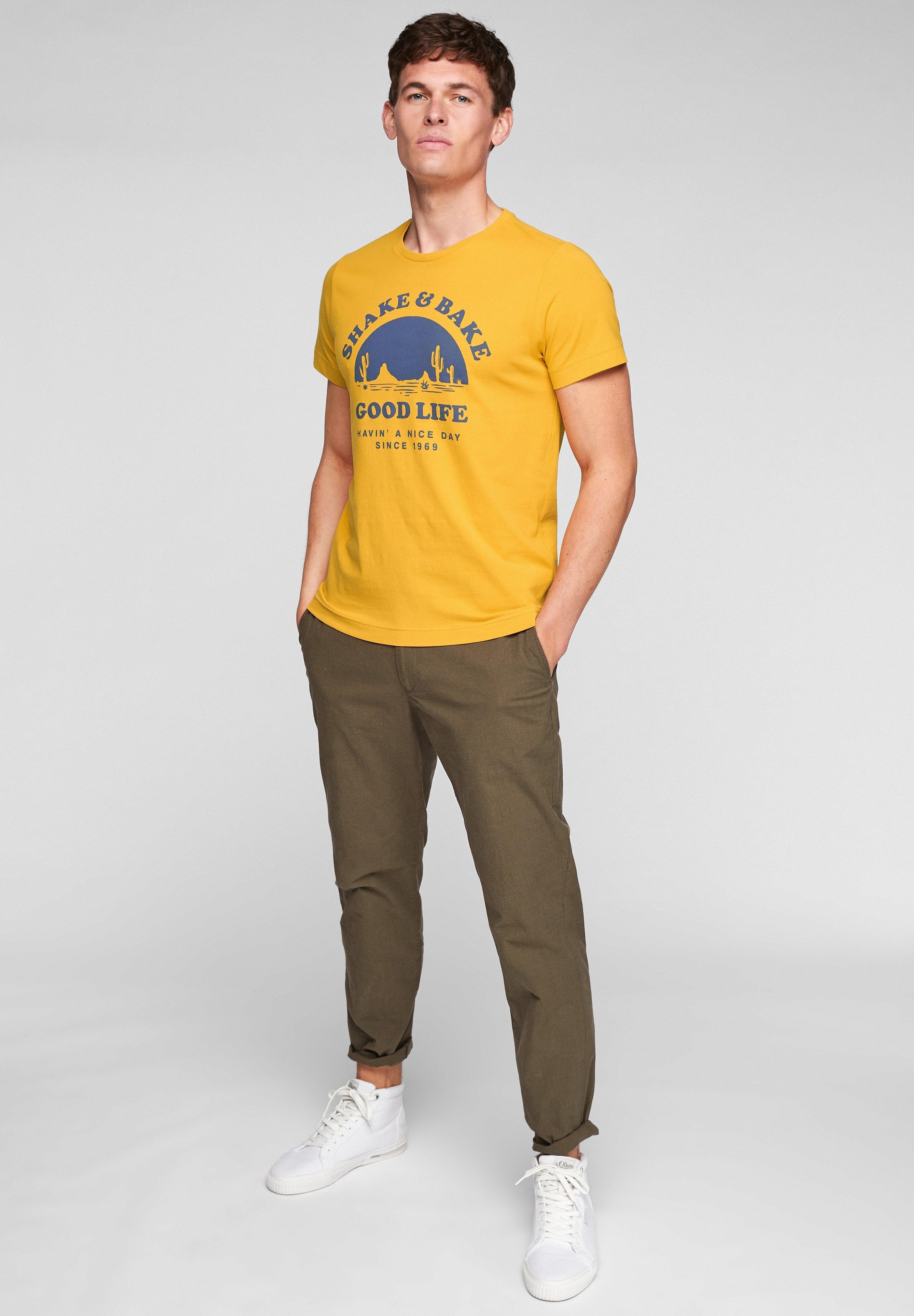 Herren MIT SCHRIFTPRINT - T-Shirt print