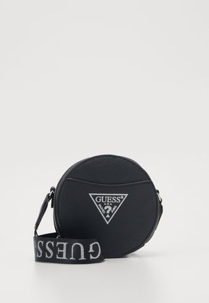 CIRCLE BAG - Skuldertasker - black