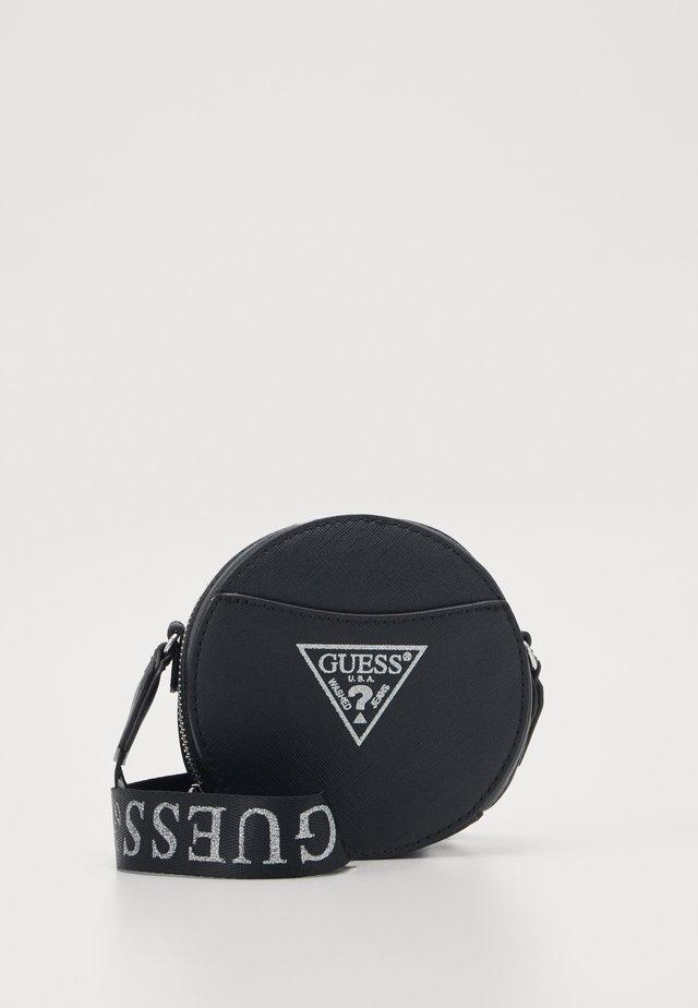 CIRCLE BAG - Schoudertas - black