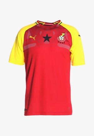 GFA GHANA HOME REPLICA - National team wear - chili pepper/dandelion