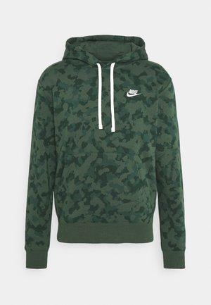 CLUB HOODIE CAMO - Sweatshirts - galactic jade/white