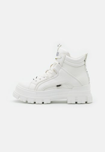 VEGAN ASPHA MID - High-top trainers - white