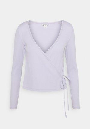NADJA - Long sleeved top - lilac purple dusty light solid