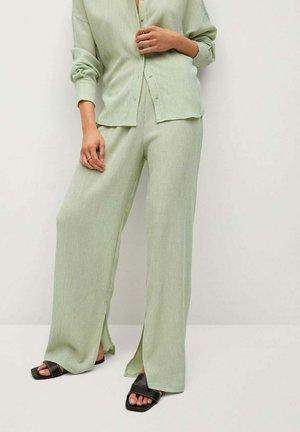 Pantalon classique - pastellgrün