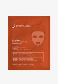 Dr Dennis Gross - C+ COLLAGEN BIOCELLULOSE BRIGHTENING TREATMENT MASK - Face mask - - - 0