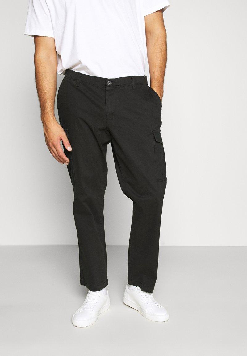Jack & Jones - JJIROY JJJOE - Cargo trousers - black