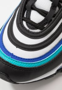 Nike Sportswear - AIR MAX 97 UNISEX - Sneakers laag - black/oracle aqua/white/hyper blue - 2