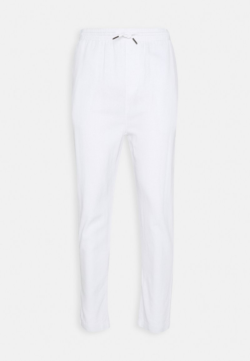 Denim Project - CROPPED PANT - Tygbyxor - white