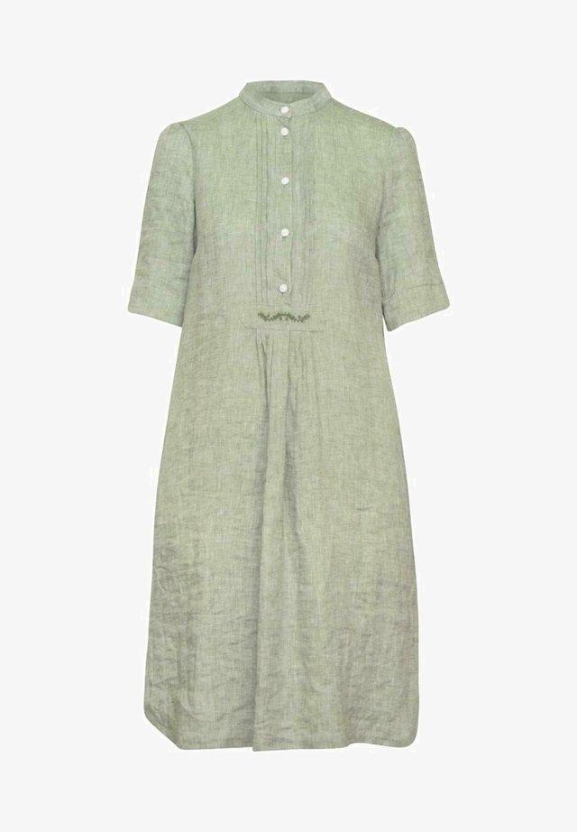 OBERALM - Shirt dress - olive