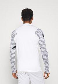 Nike Performance - Sports shirt - white/black/black/black - 2