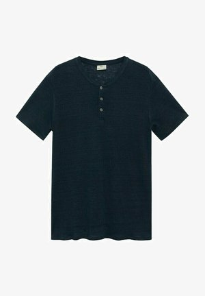 Basic T-shirt - bleu marine