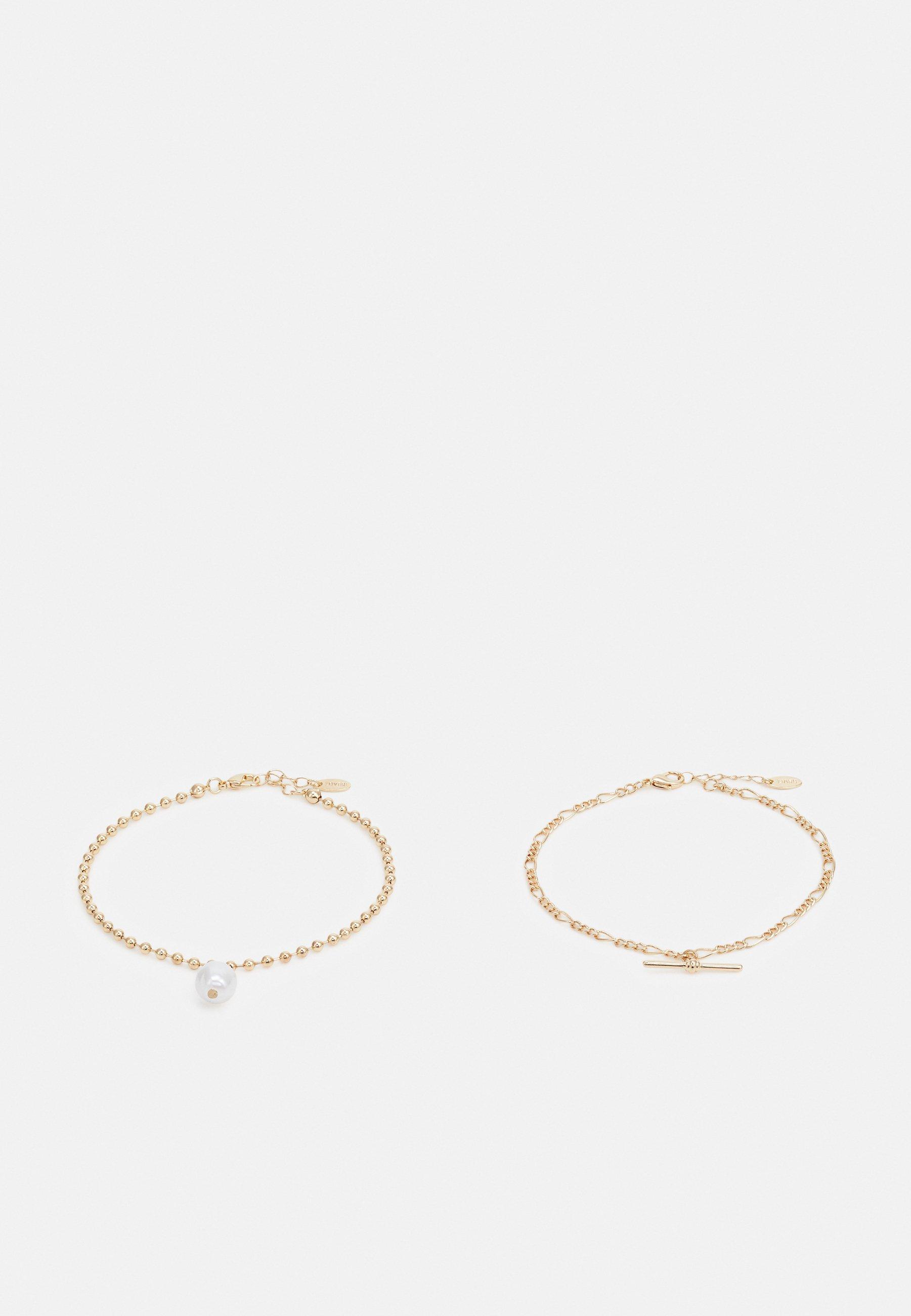 Women BAR ANKLET SET - Bracelet