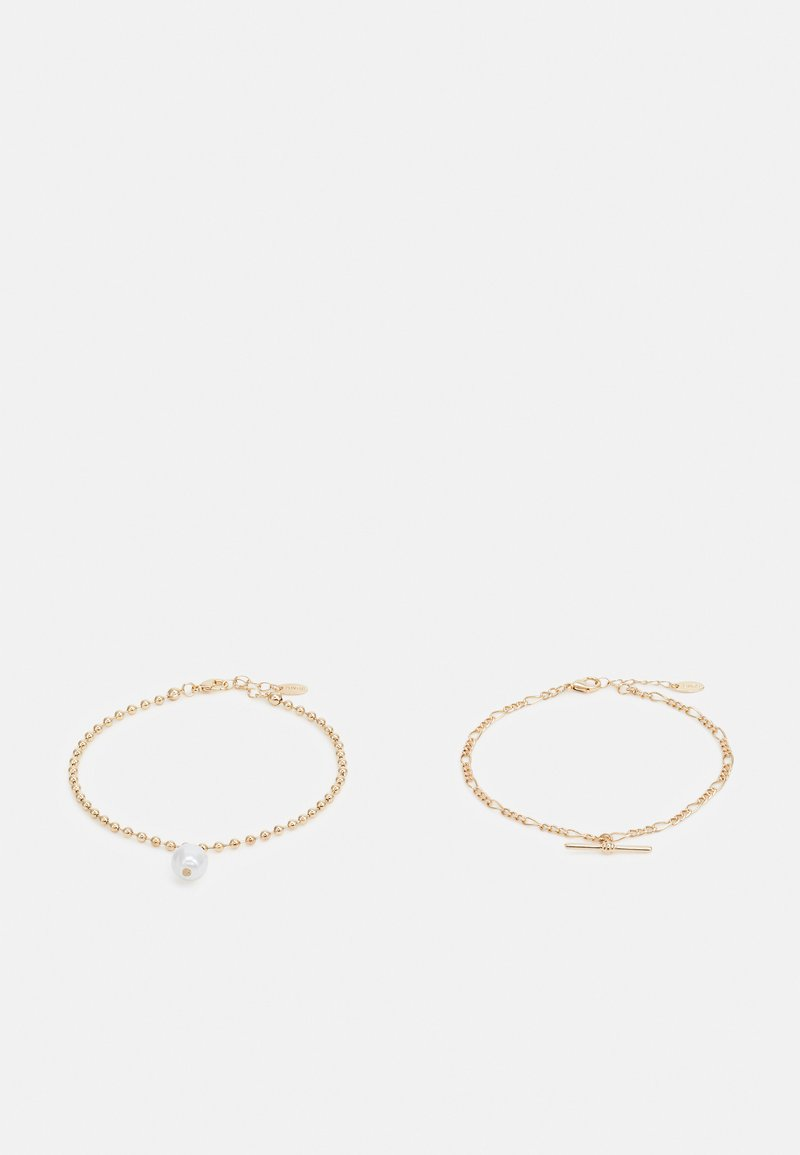 LIARS & LOVERS - BAR ANKLET SET - Bracciale - gold-coloured