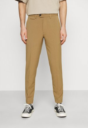 CLUB PANTS - Pantaloni - light brown