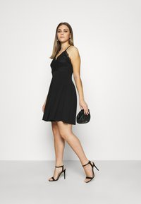 WAL G. - SKATER DRESS - Cocktail dress / Party dress - black - 1