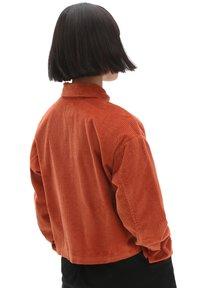 Vans - WM AINARA CORD WOVEN - Button-down blouse - picante - 1