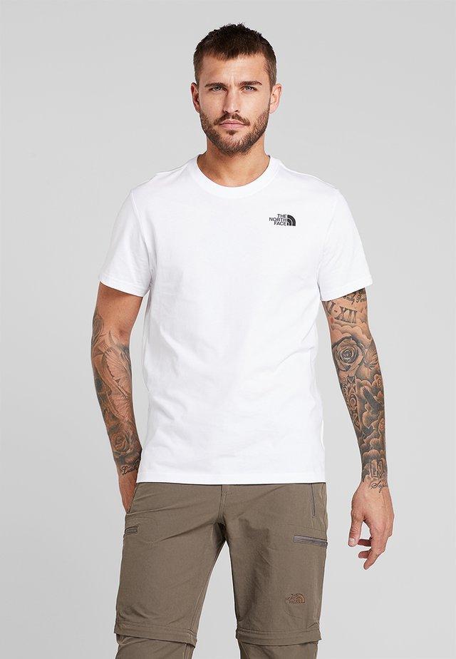 REDBOX TEE - T-shirt imprimé - white