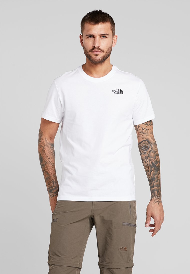 The North Face - REDBOX TEE   - Print T-shirt - white