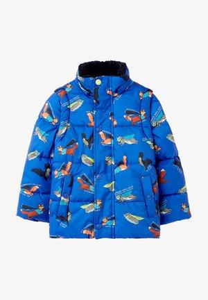 2-IN-1 - Winter jacket - blau held tier