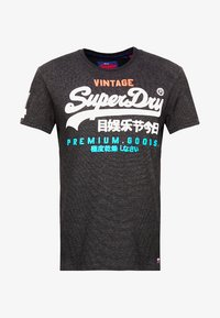 Superdry - Print T-shirt - oxide black feeder - 3
