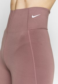 Nike Performance - Tights - smokey mauve/white - 3