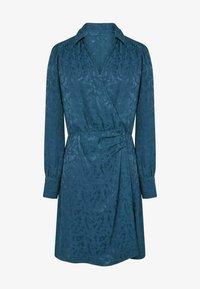 NAF NAF - Shirt dress - blue - 3