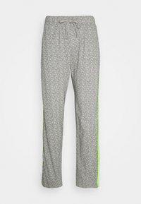 PEACHED PANT - Pyjama bottoms - grey/multi