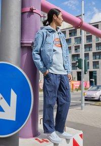 Obey Clothing - DREAM TEAM - Farkkutakki - light indigo - 1