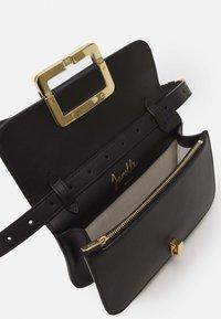 Bally - JANELLE MINI BAG - Across body bag - black/yellow gold-coloured - 3