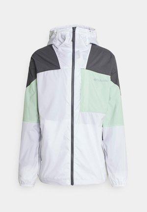 WALLOWA PARK™ JACKET - Outdoor jacket - white/sea sprite/city grey