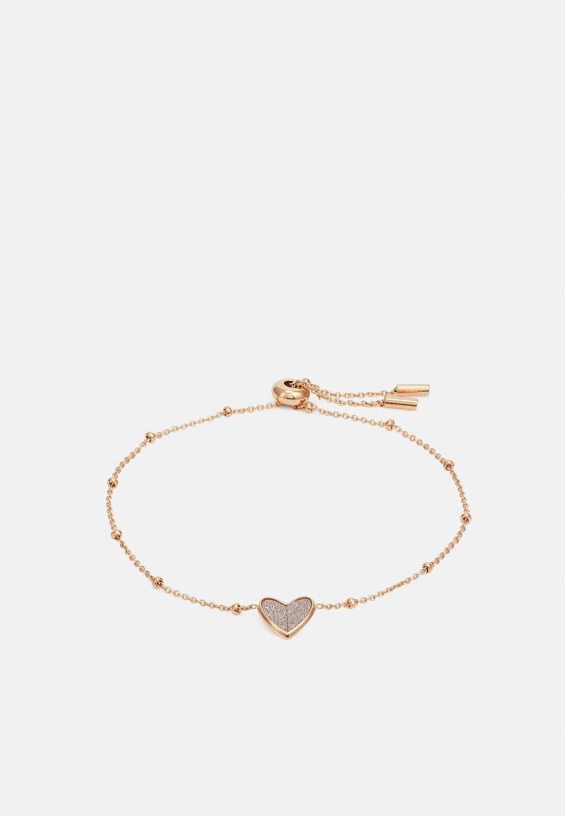 Fossil - VINTAGE GLITZ - Bracelet - rose gold-coloured