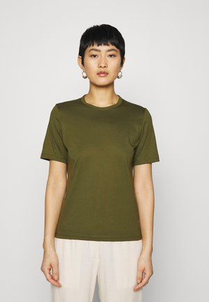 OLEA - Basic T-shirt - dark olive