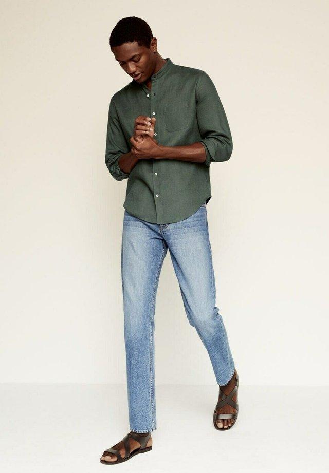 SLIM FIT  - Shirt - kaki