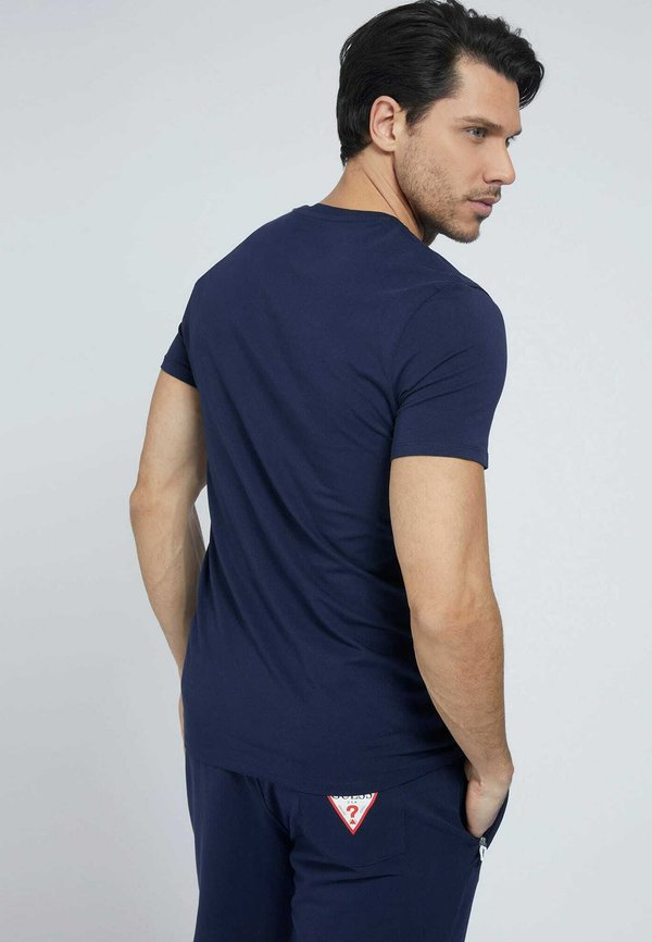 Guess TEE - T-shirt basic - blau/niebieski Odzież Męska MJRT