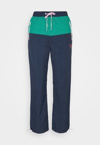 TRACKSUIT PANT - Tracksuit bottoms - twilight navy / multi