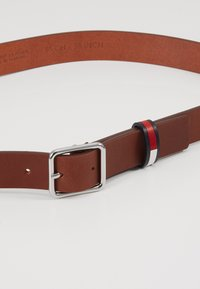 Tommy Jeans - FLAG INLAY - Belte - brown - 4