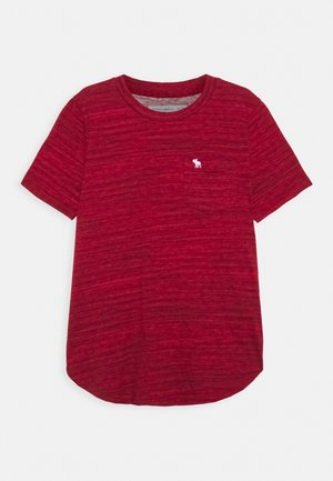 TEXTURE - Print T-shirt - red