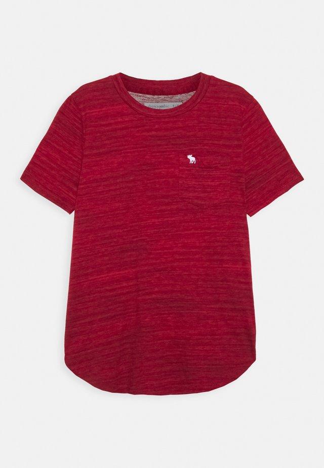 TEXTURE - Print T-shirt - red
