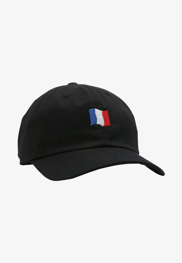 Casquette - schwarz