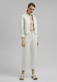 Esprit Collection - LACE SHIRT - Print T-shirt - nude - 3